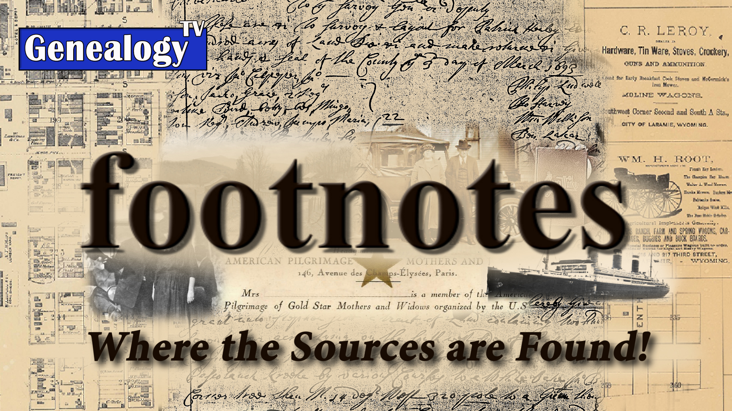 footnotes series on GenealogyTV.org