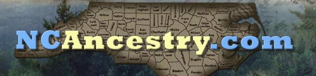 NCAncestry.com banner