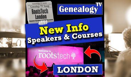 Rootstech London on Genealogy TV