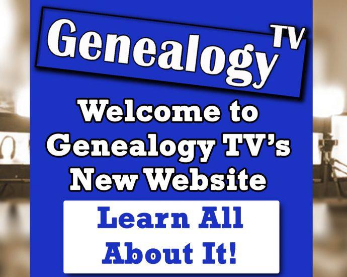 New Genealogy TV Website
