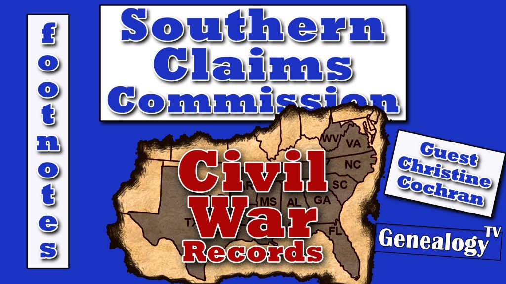 Civil War Records: Southern Claims Commision