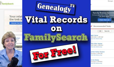 FamilySearch.org Vital Records Birth Marriage Death records