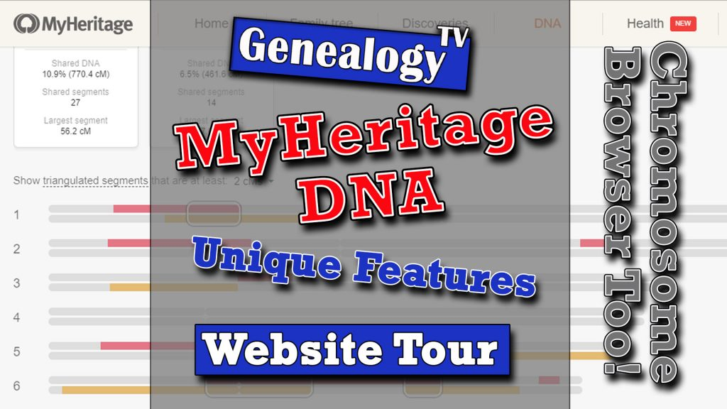 MyHeritage DNA Website Tutorial (2019)