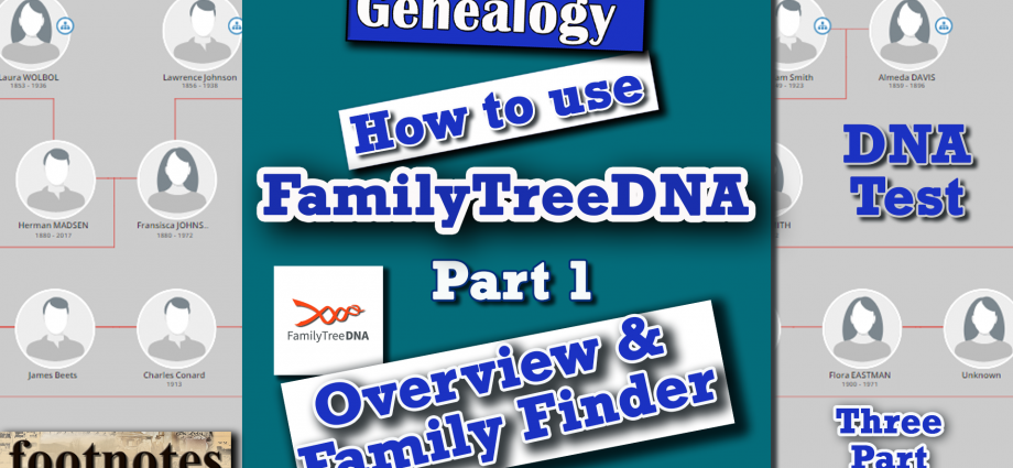How to use FamilyTreeDNA Part 1, Family Finder