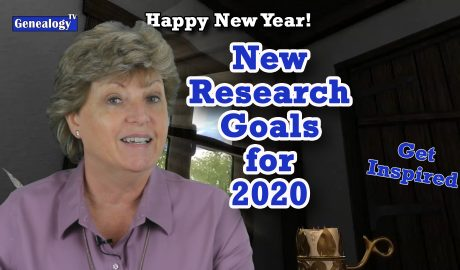 Happy New Year! Create New Genealogy Research Goals for 2020