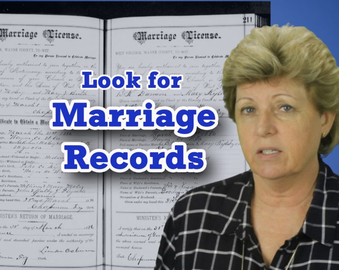 Marriage Records for Family History: Where to find them on Ancestry.com & FamilySearch.org