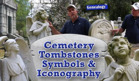 Headstone Designs, Symbols, Cherubs, Iconography Found in Cemeteries