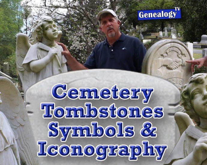 Headstone Designs, Symbols, Cherubs, Iconography Found in Cemeteries