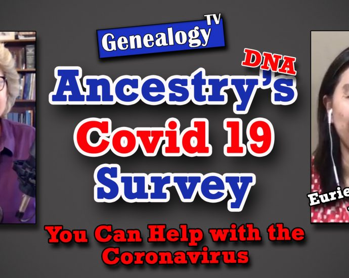 Ancestry.com's Covid 19 Survey for AncestryDNA® Members (May 2020)