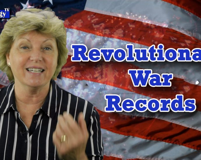 Revolutionary War Records for Genealogy Research - Part 1