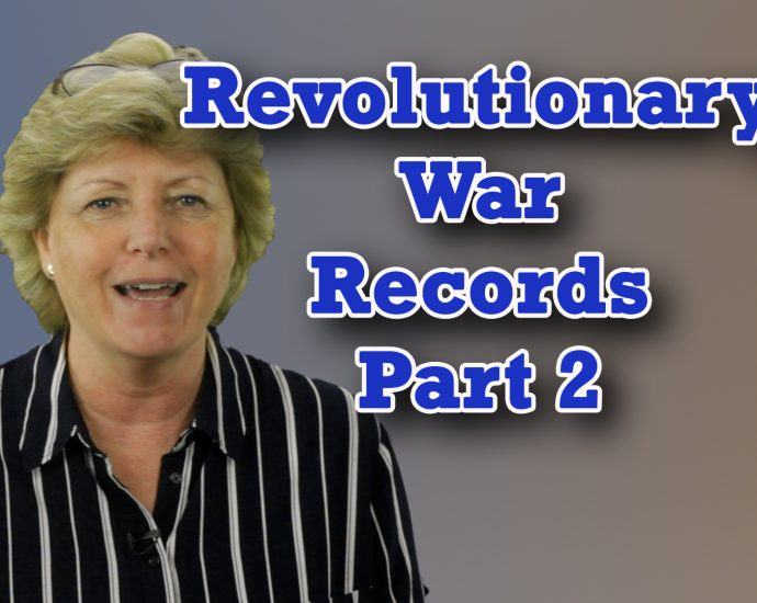 Revolutionary War Records for Genealogical Research