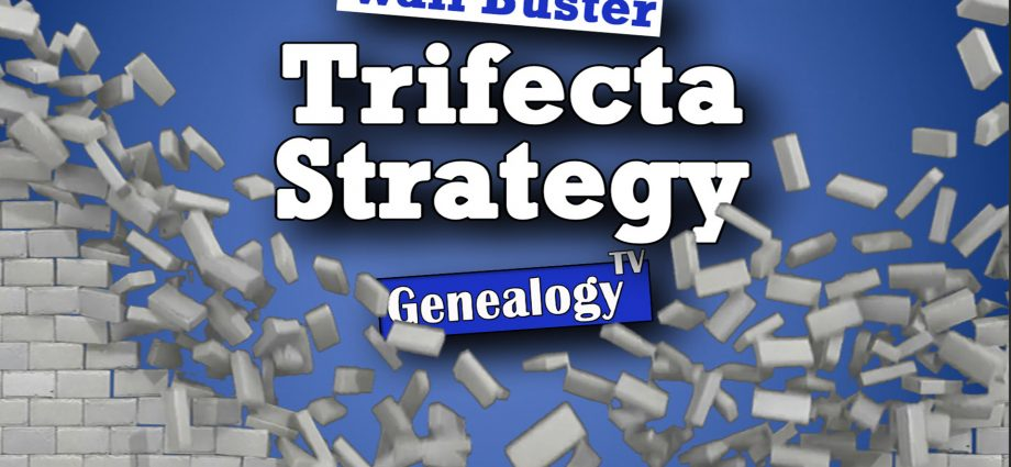 Find More Genealogy Facts with the Trifecta Strategy Wall Buster