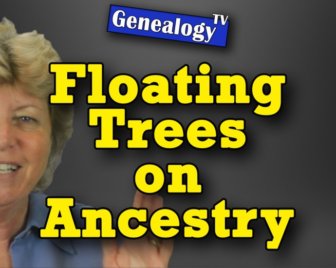 What is a Floating Tree on Ancestry.com