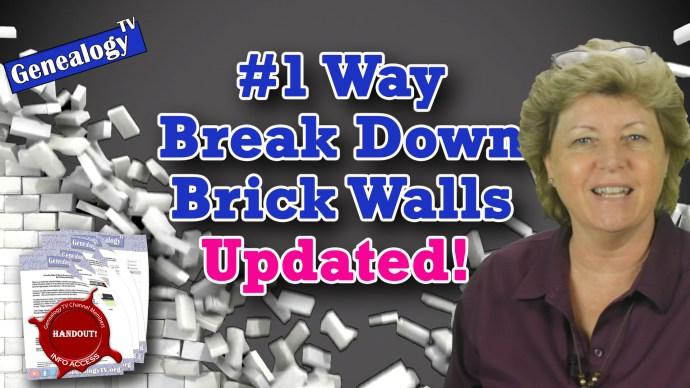 #1 Way to Break Down Brick Walls Updated 2020