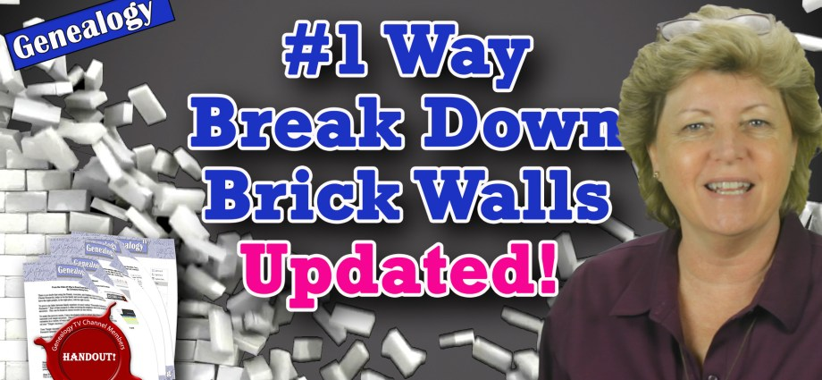 #1 Way to Break Down Brick Walls Updated 2020