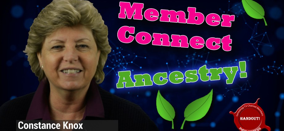 Member Connect on Ancestry.com