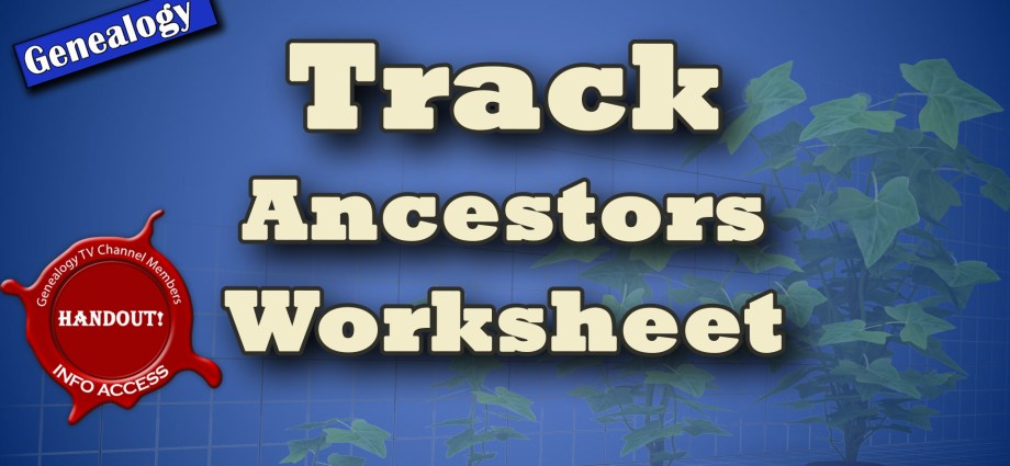 How to track ancestors
