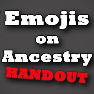 Genealogy TV Handout