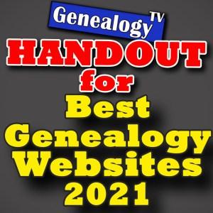 Best 5 Genealogy Websites 2021