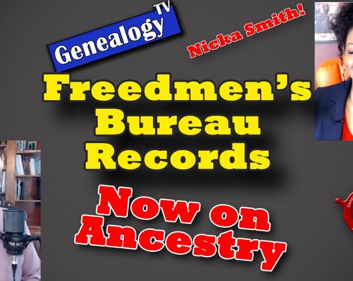 Freedmen's Bureau Records on Ancestry