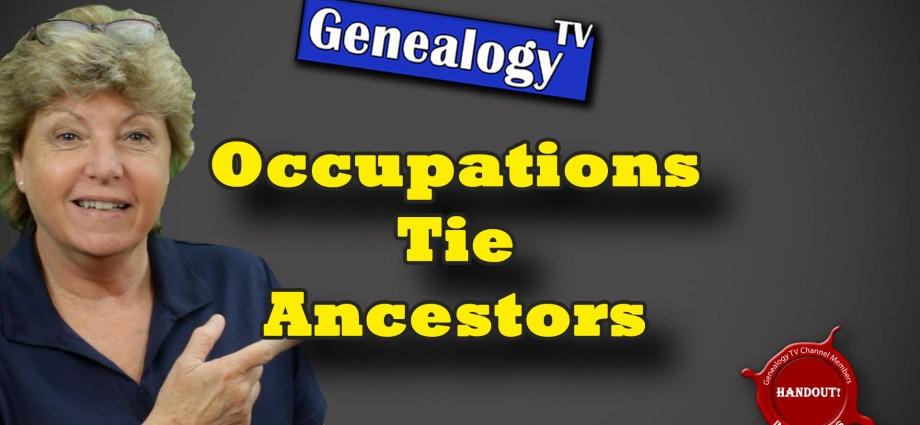 Occupations Tie Ancestors